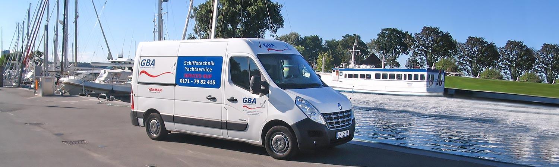 Bild des Werkstattwagens Mobiler Yachtservice